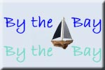 By the Bay - art work decorative designs in driftwood and sea glass  by Lin Dean